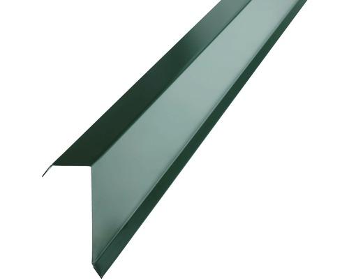 Záveterná lišta PRECIT pre trapézový plech 1000 mm, 6005 machovo zelená