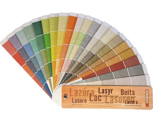 Vzorkovník farieb HORNBACH pre lazúry