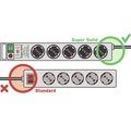 Prepäťová ochrana H05VV-F 3G1,5 8 zásuvky 2,5m sivá
