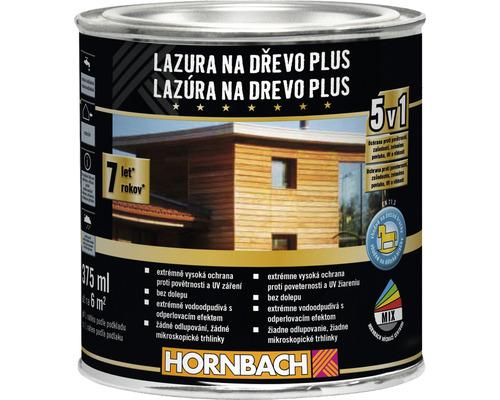 Lazúra na drevo Plus 375 ml mahagón