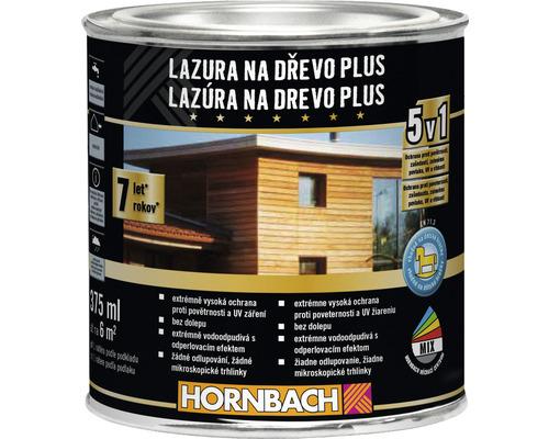 Lazúra na drevo Plus 375 ml bezfarebná