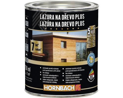 Lazúra na drevo Plus 750 ml mahagón