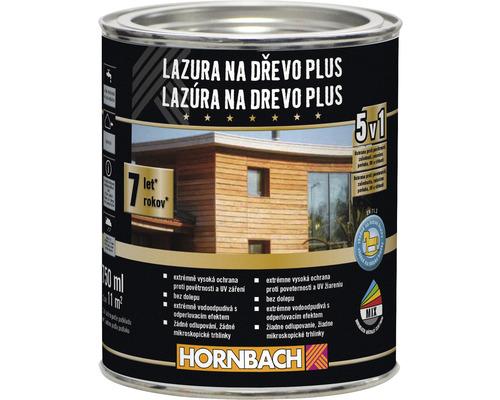 Lazúra na drevo Plus 750 ml eben