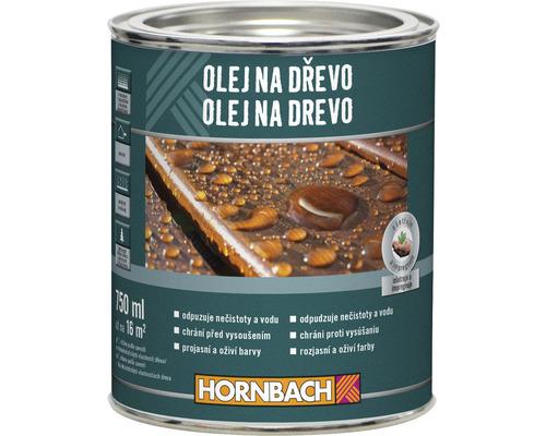 Olej na drevo Hornbach Bangkirai 0,75 l