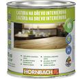 Lazúra na drevo interiérová Hornbach, biela 375 ml