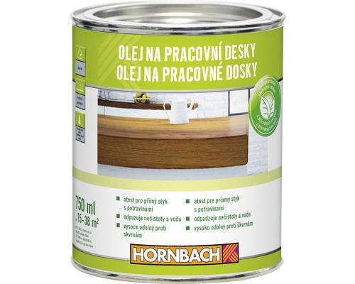 HORNBACH Olej na pracovné dosky 750ml