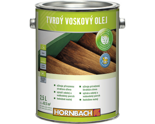 Tvrdý voskový olej 2,5l