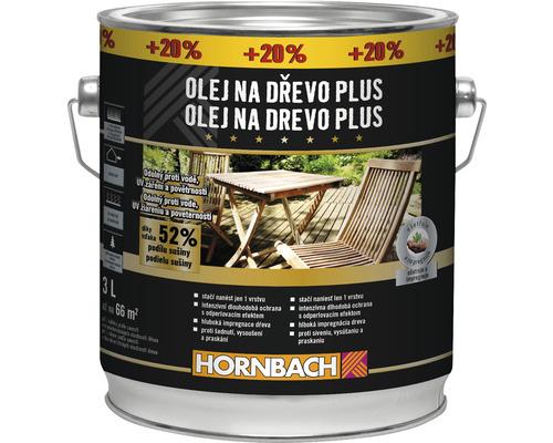 Olej na dřevo Plus Teak 2,5 l +20%