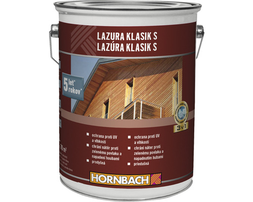 HO Lazura Klasik S 5 L palisander