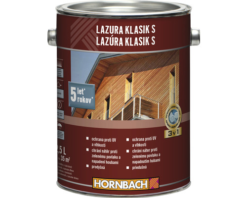 HO Lazura Klasik S 2,5 L pínia/smrekovec