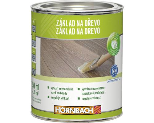 HORNBACH základný náter na drevo bezfarebný 750 ml
