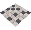 Keramická mozaika CD 210 antracit/béžová/sivá mix 30,5 x 30,5 cm