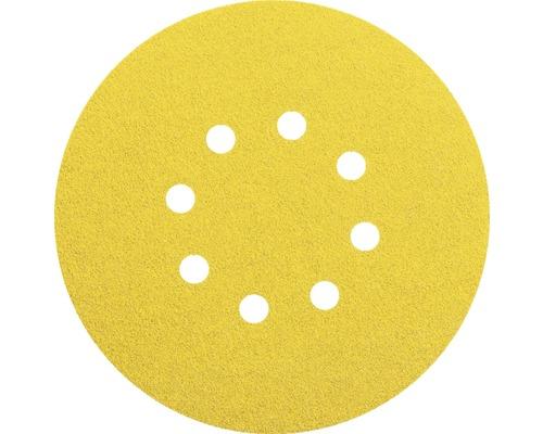 Brúsny papier pre excentrické brúsky Bosch Ø 115 mm G80, 8 dier