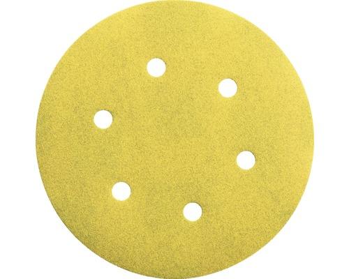 Brúsny papier pre excentrické brúsky Bosch Ø 150 mm G120, 6 dier