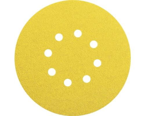 Brúsny papier pre excentrické brúsky Bosch Ø 125 mm G120, 8 dier