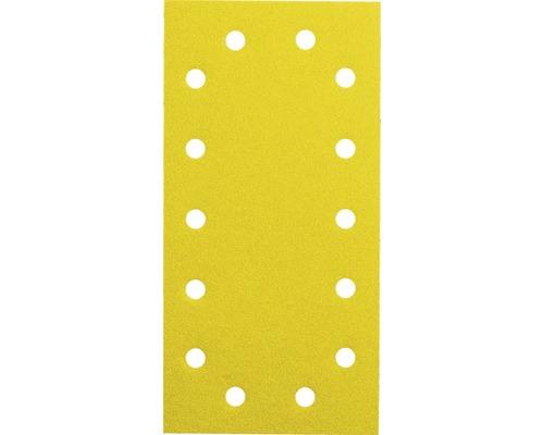Brúsny papier pre vibračné brúsky Bosch 115x280 mm G40, 14 dier