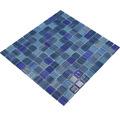 Sklenená mozaika CM 4285 modrá 30,5x32,5 cm