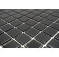 Sklenená mozaika CM 4050 čierna 30,5x32,5 cm