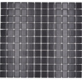 Keramická mozaika M 892 čierna 30,2 x 33 cm