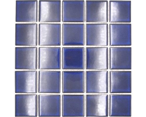 Keramická mozaika SD 651 modrá 30,4 x 30,4 cm