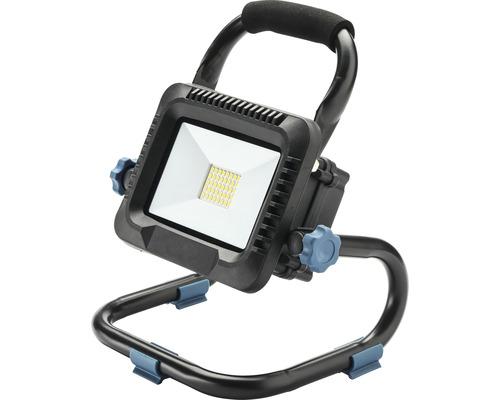 LED pracovný reflektor Lumakpro IP40 20W 2300lm 6500K čierny