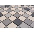 Keramická mozaika CU 010 béžová/sivá mix 30,3 x 33 cm