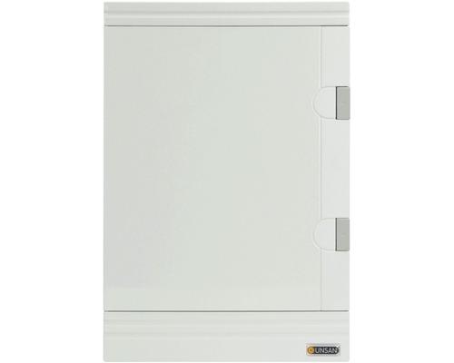 Rozvodná skriňa na omietku IP40 36 mod. biela