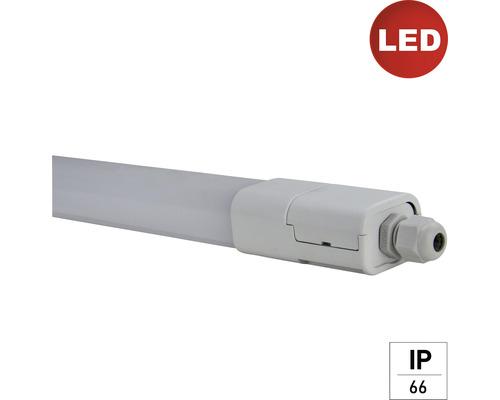 LED svietidlo E2 do vlhkého prostredia IP65 24W šedé