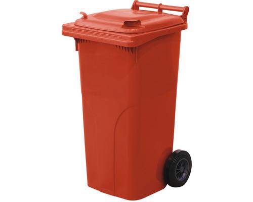 Popolnica TBA 120 l plastová červená