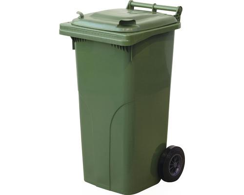 Popolnica TBA 120 l plastová zelená