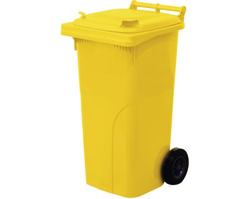 Popolnica TBA 120 l plastová žltá