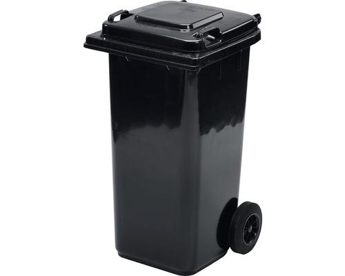 Popolnica TBA 120 l plastová čierna