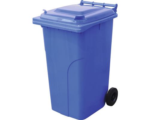 Popolnica TBA MGB 240 l plastová modrá
