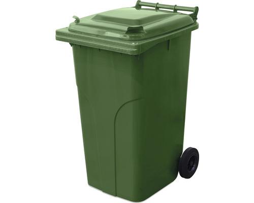 Popolnica TBA MGB 240 l plastová zelená