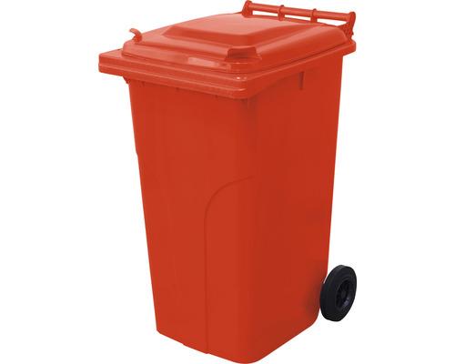 Popolnica TBA MGB 240 l plastová červená