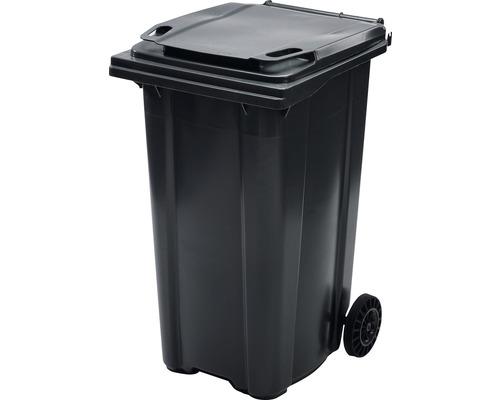 Popolnica TBA MGB 240 l plastová čierna