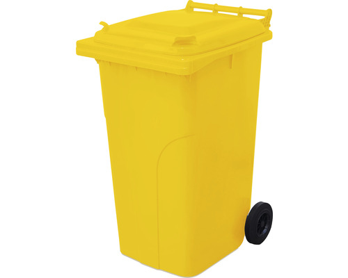 Popolnica TBA MGB 240 l plastová žltá
