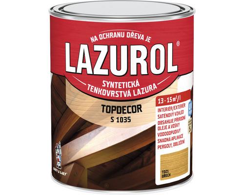 Lazurol TOPDECOR S1035 T21 orech 0,75L
