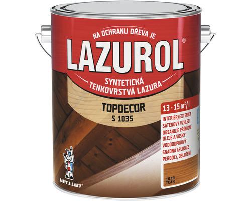 Lazurol TOPDECOR S1035 T23 teak 2,5 L
