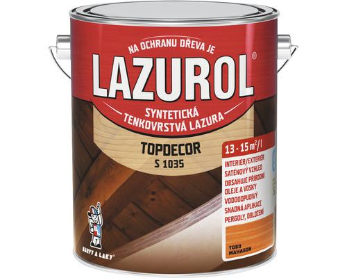Lazurol TOPDECOR S1035 T80 mahagón 2,5 L