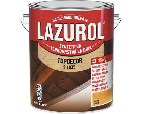 Lazurol TOPDECOR S1035 T24 céder 2,5 L
