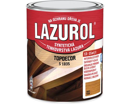 Lazurol TOPDECOR S1035 T23 teak 0,75L