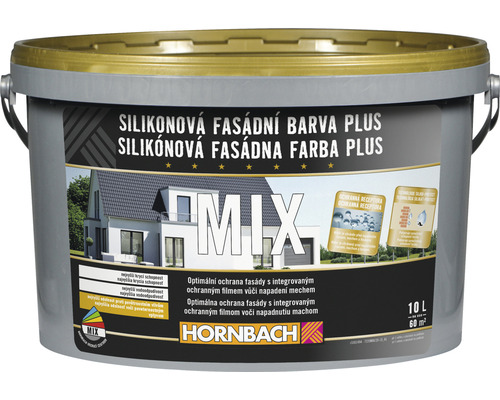 HO Mix Silik. fasádna farba Plus 10l A