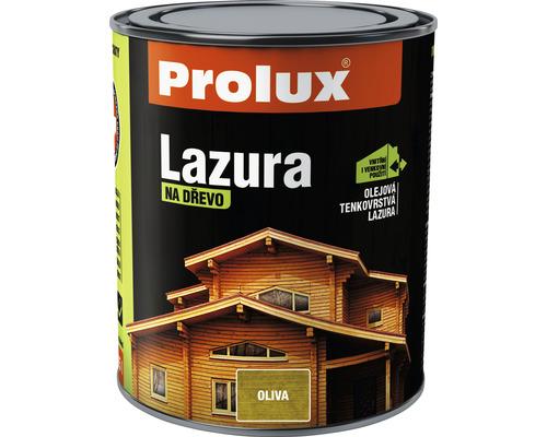Lazúra na drevo Prolux Lazúra 34 - Oliva 0,75L