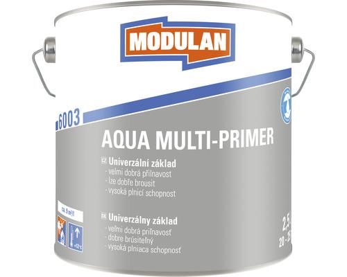 Univerzálny základ Modulan Aqua Multi-Primer RAL7001 Strieborná sivá 2,5 l