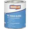 PU akrylátový lak vysoký lesk Modulan PU Aqua Gloss RAL9016 Dopravná biela 750 ml