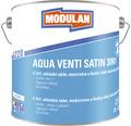 3v1 základný náter, medzivrstva a finálny náter hodvábne matný Modulan Aqua Venti Satin 3in1 RAL9001 Krémová biela 2,5 l