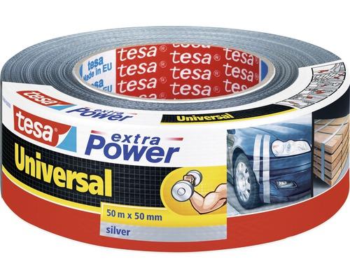 Opravná lepiaca páska tesa 48 mm x 50 m strieborná