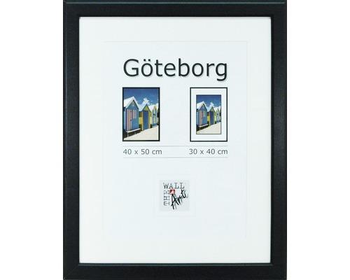Drevený fotorámik Göteborg čierny 40x50 cm