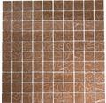 Sklenená mozaika XCM SM 449 30,5x32,5 cm pastelovo béžová/hnedá